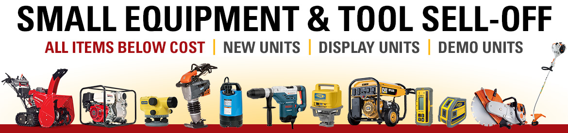 2020 Small Equipment Tool Sell-Off