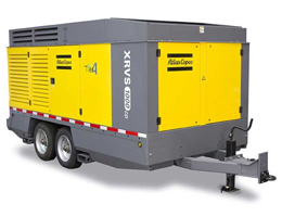 Diesel Air Compressor, Silenced (750-1,600 CFM) Rental