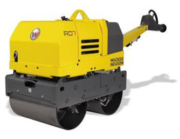 Double Drum Vibratory Rollers Rental