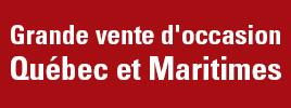 Équipement d'occasion en Québec et Maritimes