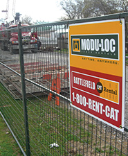 ModuLoc Construction Fence