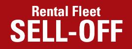 Rental Fleet Sell-Off