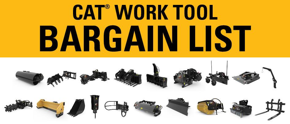 Work Tool Bargain List