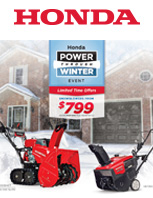 2020 Honda Power Through Winter