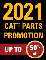 2021 Cat Parts Promotion