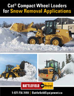 Compact Wheel Loaders for Snow Removal