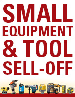 Small Equipment & Tool Sell-Off