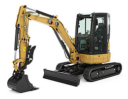 Cat Mini Hydraulic Excavators Rental