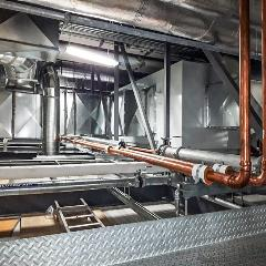 Air Handling Unit Ducting and Piping