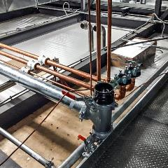 Domestic Water Compressed Air Piping