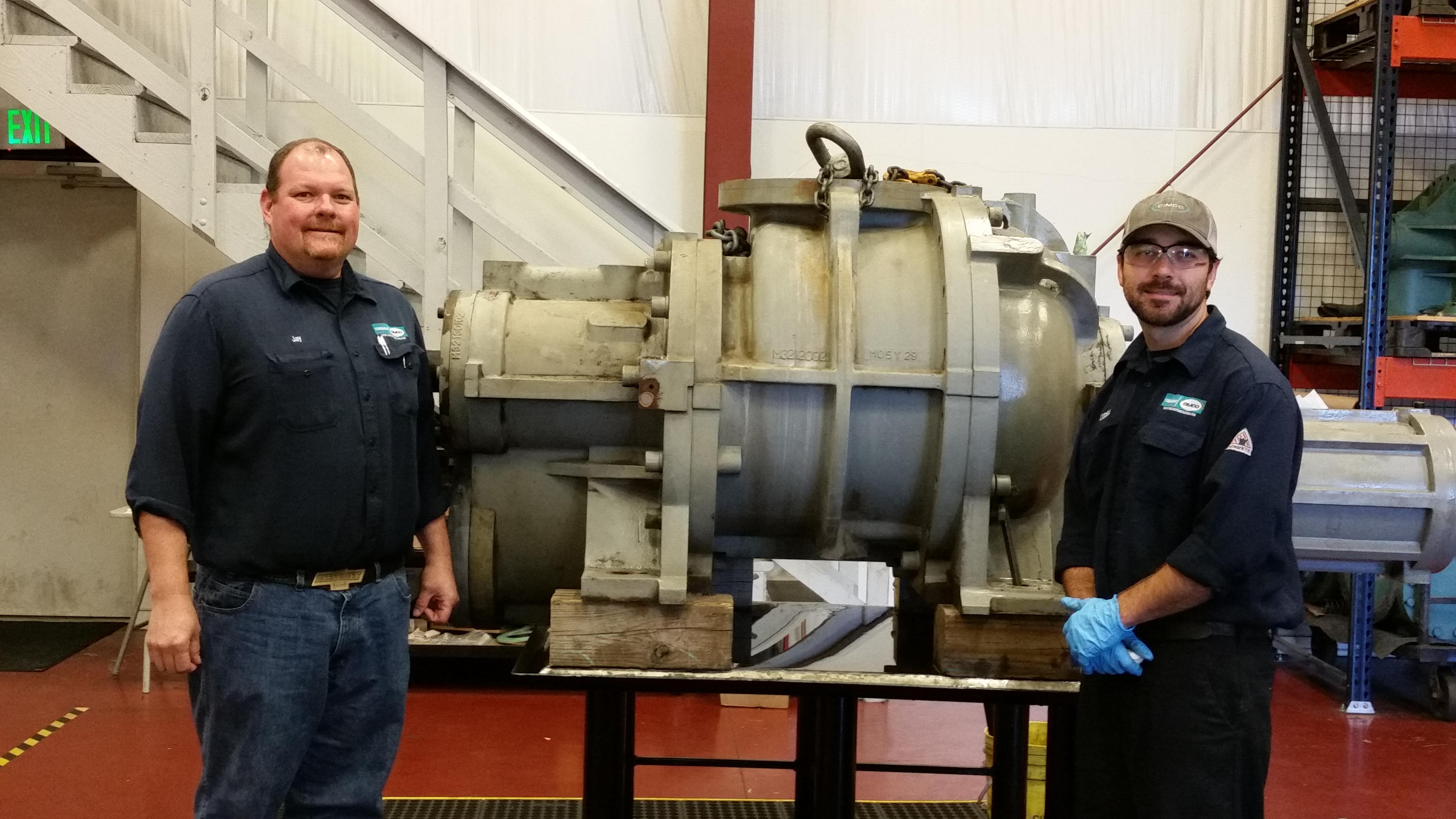 cimco compressor rebuilding