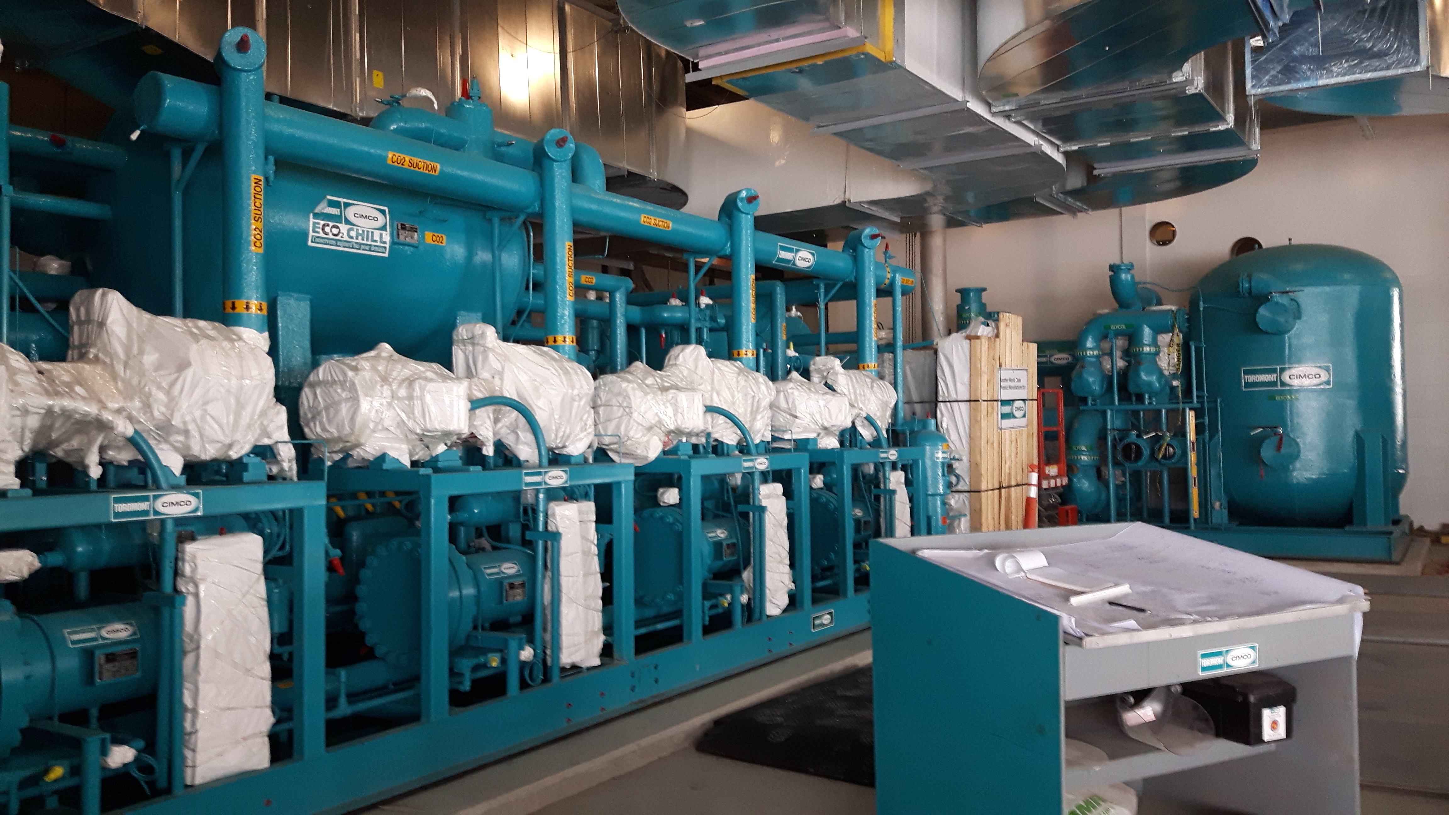 Cimco Pack CO2 basse température