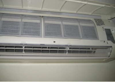 ductless split after cleaning