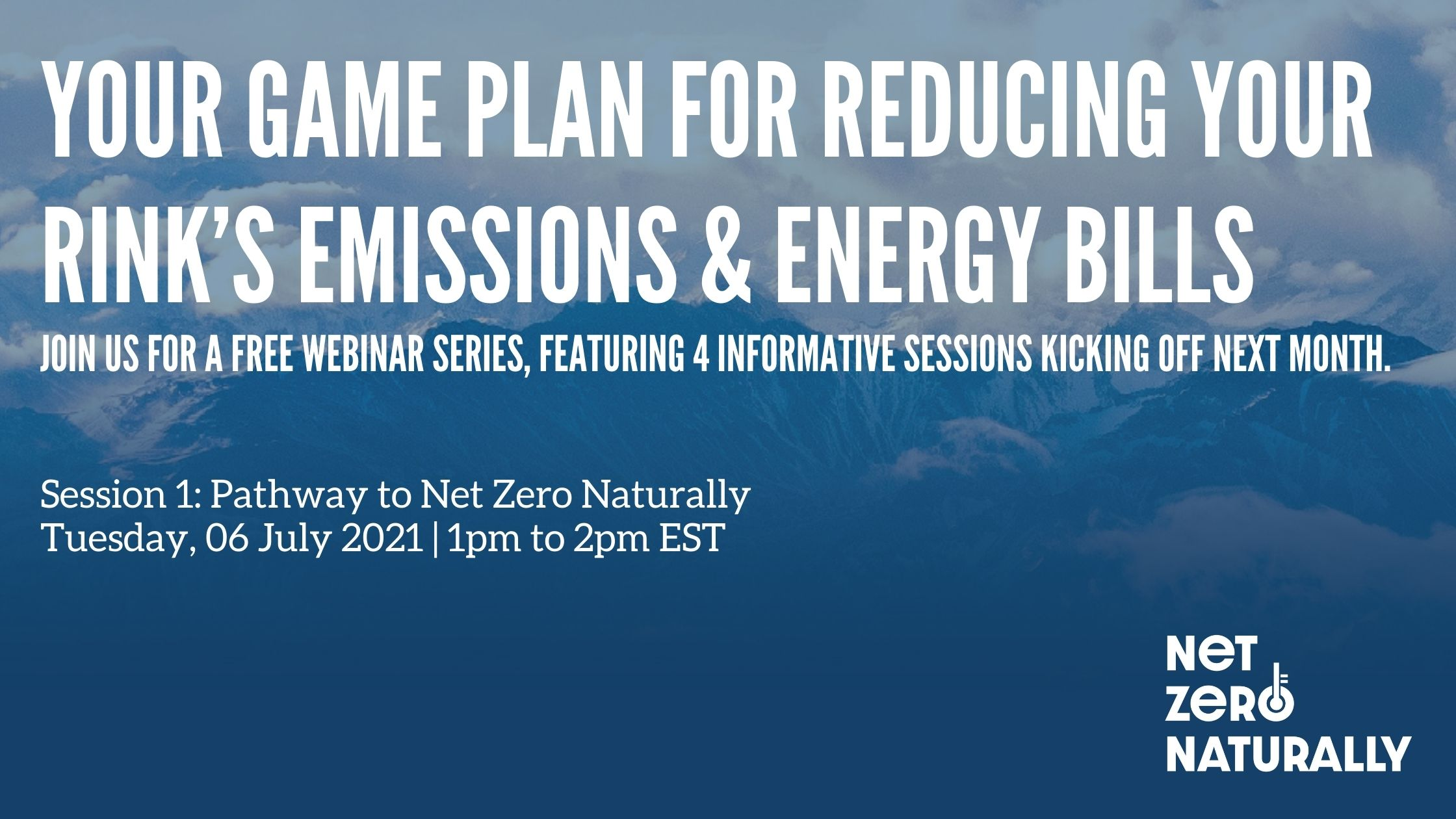 Your game plan for reducing your rink's emissions & energy bills