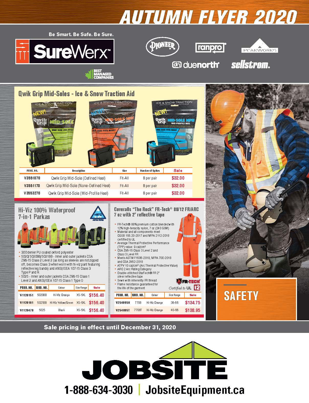 Autumn Safety Flyer