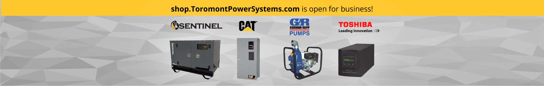Toromont Power Systems Online Store