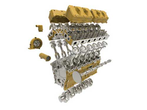 Cat Reman for marine engines
