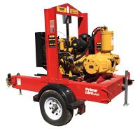 pump rental on trailer