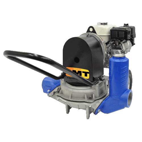 Diaphragm trash pumps