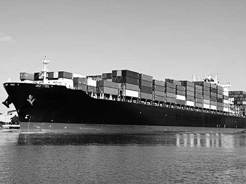 cat engines cargo ship