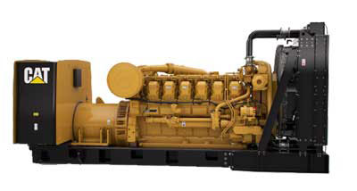 3512 1000 kW standby generator