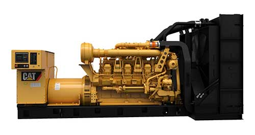 2MW standby generator