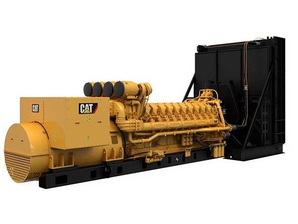 4 MW diesel generators