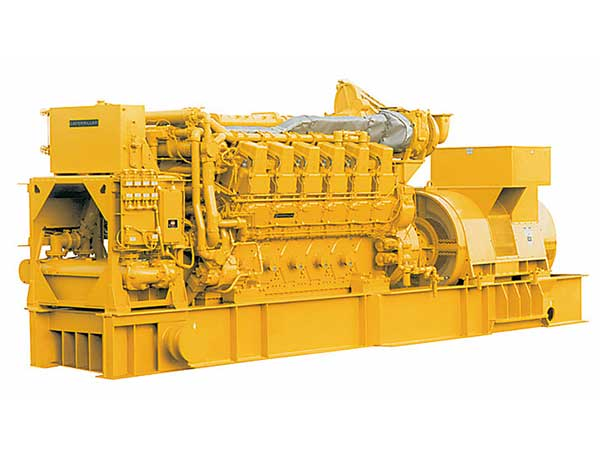 4000 kw standby generator Caterpillar