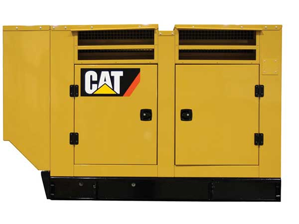 caterpillar generator w enclosure
