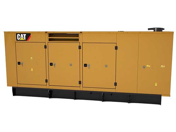 600 kW diesel genset w enclosure