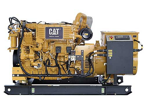 Caterpillar auxiliary engine
