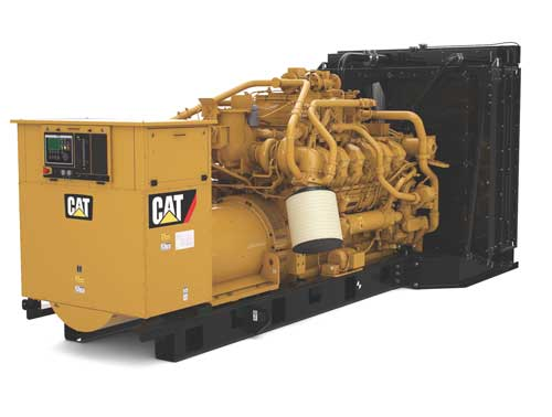 1000 kw standby gas generator