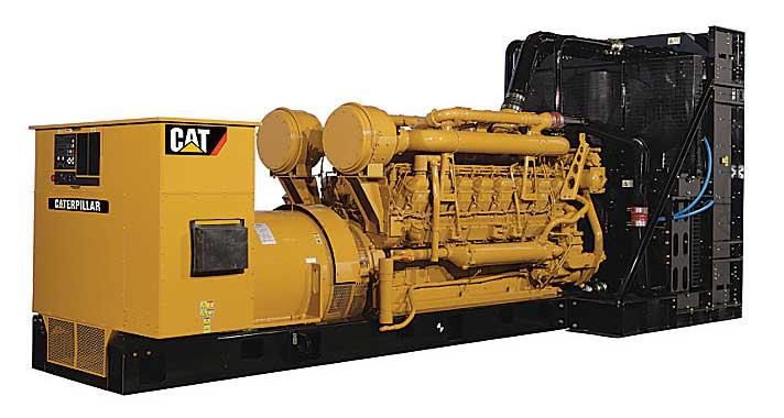 Cat diesel gensets