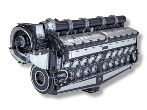 electro-motive diesel engine