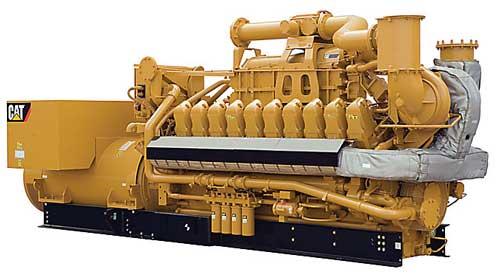 G3520C generator for landfills