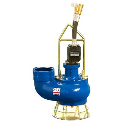 Hydraulic driven submersible pump