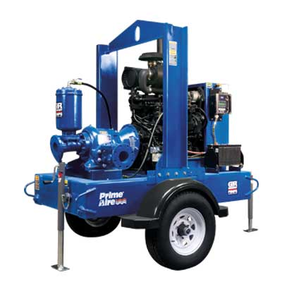 Heavy Duty Cast Irom Pump And Impeller 3x3 Contractor Self Priming Trash Kohler Powered 6 5 Hp 17 000 Gph 23 Lift 98 Foot Head