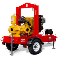 6 inch rental pump