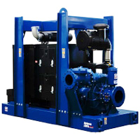 12 inch rental pump