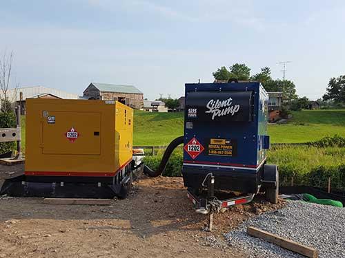 bypass pump application