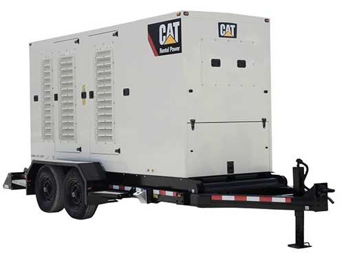 135 kW natural gas rental