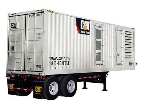 400 kW nat gas generator rental
