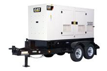 rental generator Caterpillar