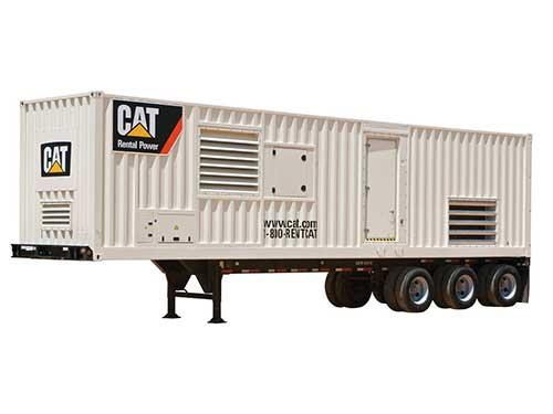 1250 kW nat gas rental generator