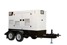 Cat rental genset